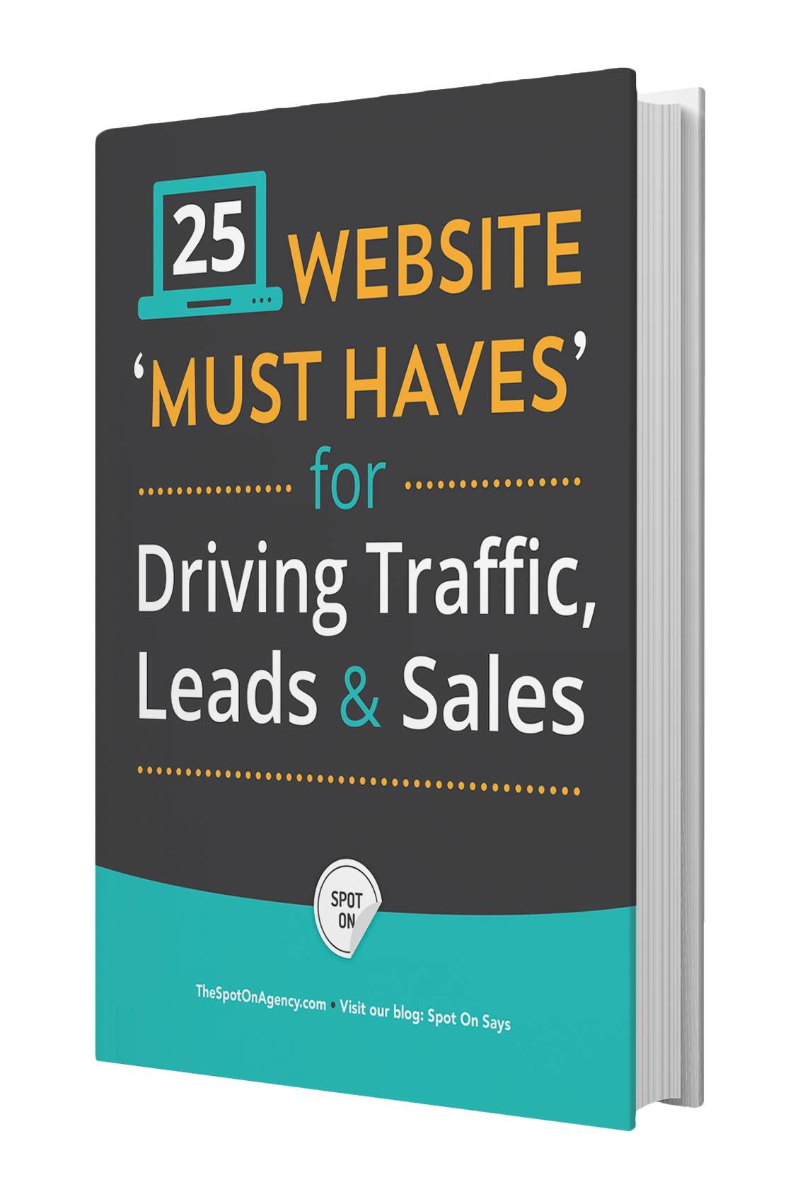 eBook: 25 Website Must Haves for Driving Traffic, Leads & Sales