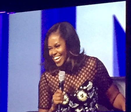 Michelle Obama at Inbound 2017