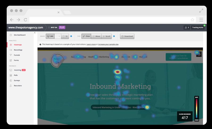 website tracking software
