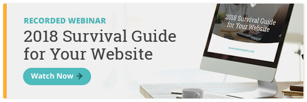Webinar: Survival Guide for Your Website