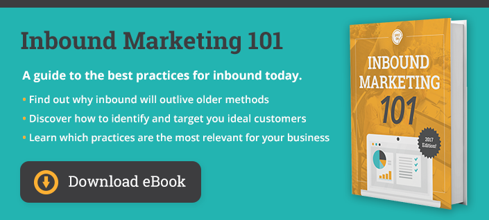 Inbound Marketing 101 eBook
